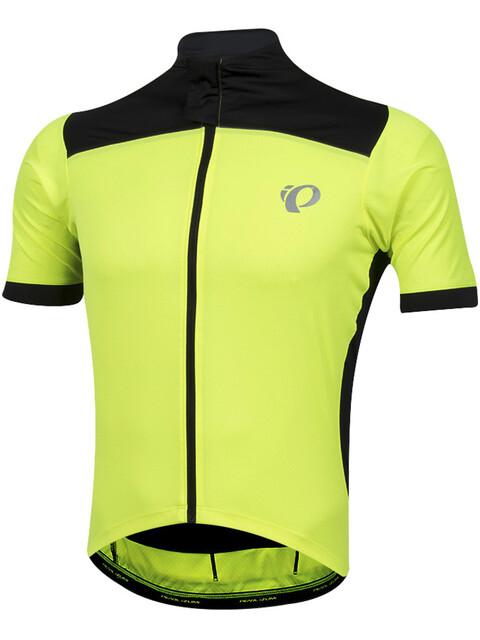 PEARL iZUMi Pro Pursuit Wind Short Sleeve Wind Jersey Men screaming yellow/black
